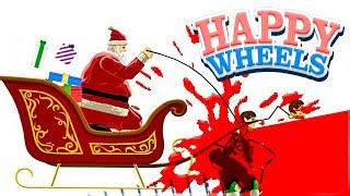 ACIDENTE DO PAPAI NOEL! 😱 - Happy Wheels