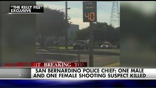 WATCH: Police and San Bernardino Shooting Suspects Exchange Gunfire