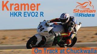 Riding the Kramer Motorcycles HKR EVO2 R