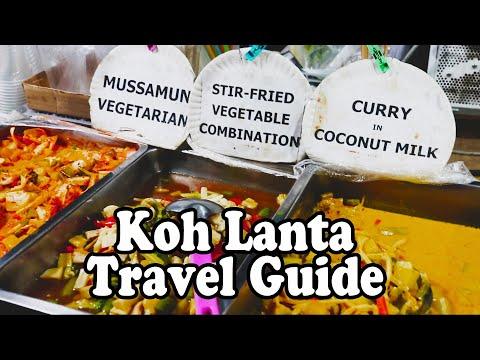 Koh Lanta Food Guide, Part 2. Restaurants and Thai Street Food on Koh Lanta Thailand 2019