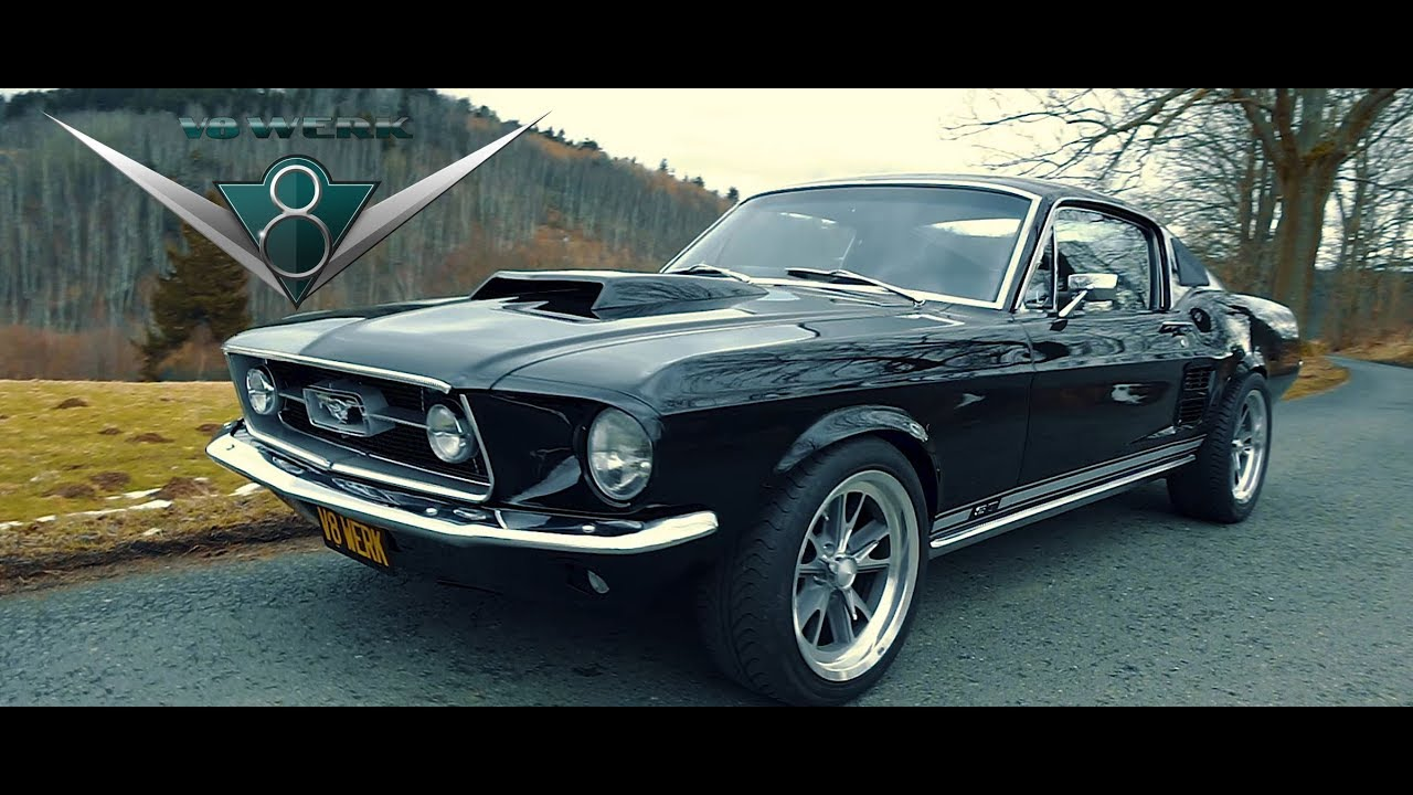 V11 Werk - 11 Ford Mustang Fastback GT Klappenauspuff Sound - MuscleCar -  Restauration   1967 ford mustang