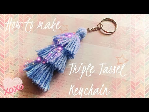 How to make the Triple Tassel