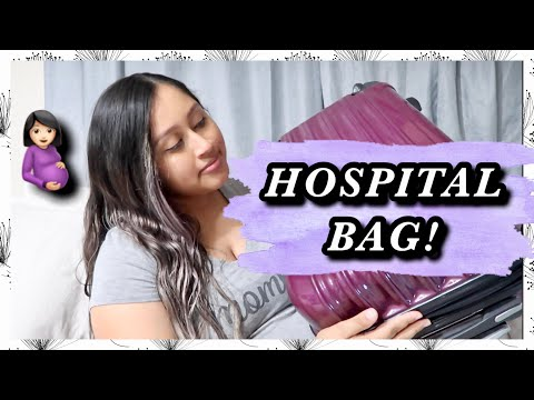 WHAT'S IN MY HOSPITAL BAG! (Labor & Delivery With Baby Number 2) | VLOGTOBER DAY 16