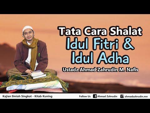 Tata Cara Shalat Idul Fitri Dan Idul Adha Youtube
