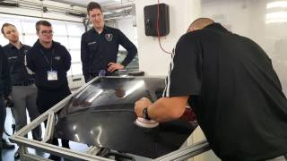 How much damage can a rotary polisher do?