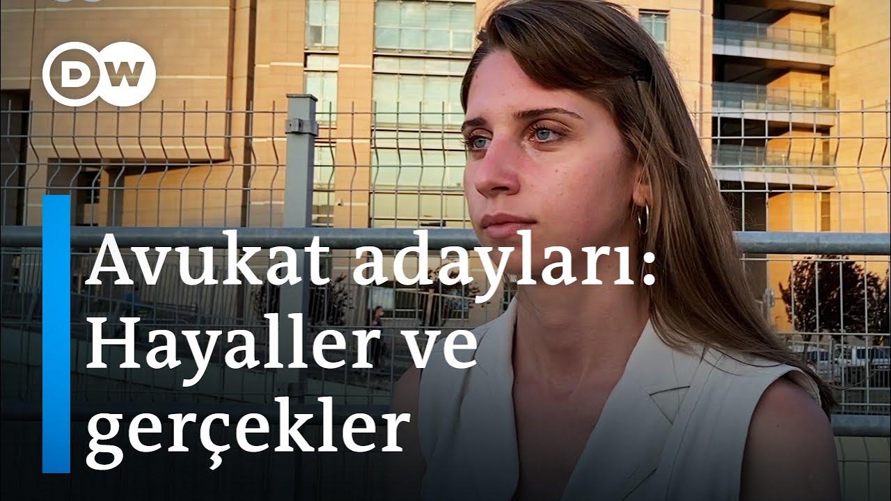 Avukat adaylarının Türkiye'de yargıya bakışı - DW Türkçe