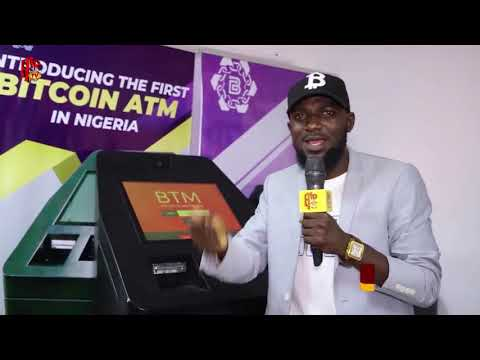 HE HAS DEVELOPED THE FIRST BITCOIN ATM IN NIGERIA