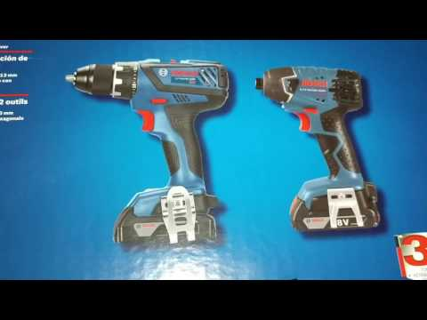 BOSCH 2 TOOL COMBO KIT 1/2 in. COMPACT TOUGH DRILL/DRIVER