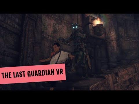 The Last Guardian VR mit PlayStation VR