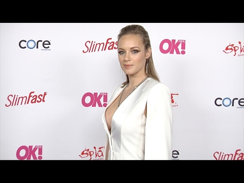 Danielle Savre 2017 OK! Pre-Grammy Event Red Carpet