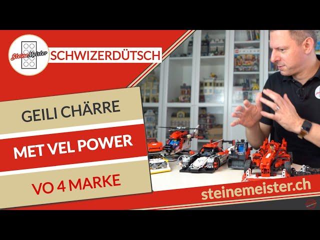 Schwiizerdütschi Zämefassig met Chärre vo Lego, Sluban, Cada sowie Sembo & we gohts witer?