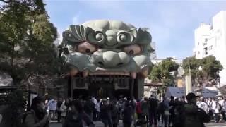 難波八阪神社の綱引き神事 2020