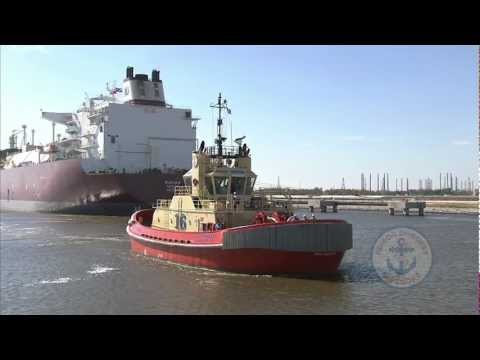 LNG Tractor Tugs, Sabine Pass