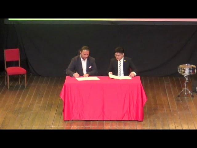 Promo de Acuerdo con Gobierno Chino de Yiwu  y Luis Norteflamenco
