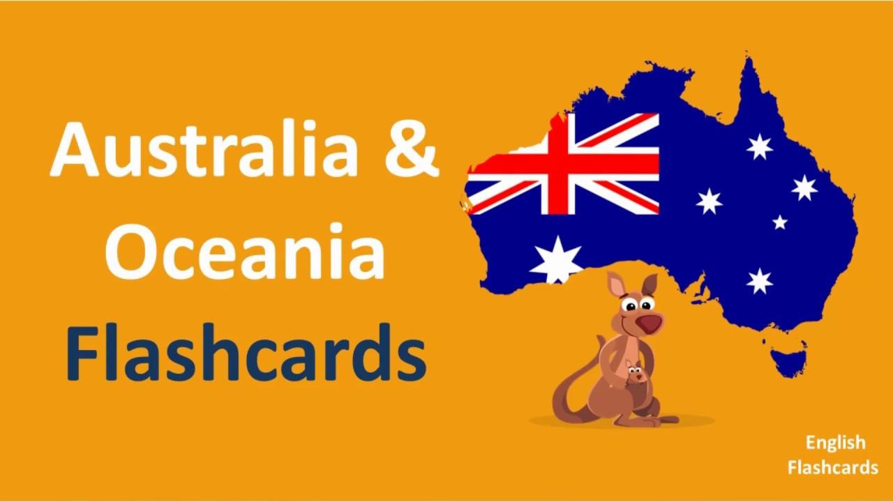 country flags hd l part 4 l learn countries of australia