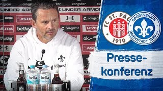 Darmstadt 98 | Pressekonferenz nach dem Spiel beim FC St. Pauli