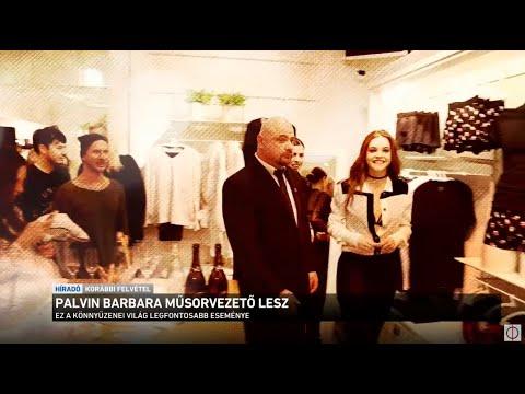 Palvin Barbara műsorvezető lesz thumbnail