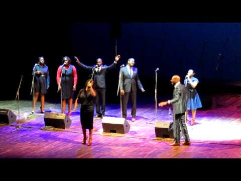 Clive Brown and The Shekinah Singers Live at Livorno Gospel Festival 2011.MOV