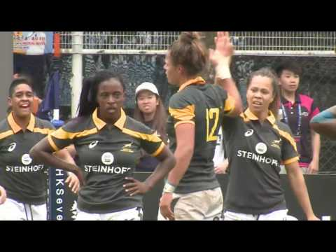 South Africa vs Colombia - World Rugby Women's Sevens Series Qualifiers