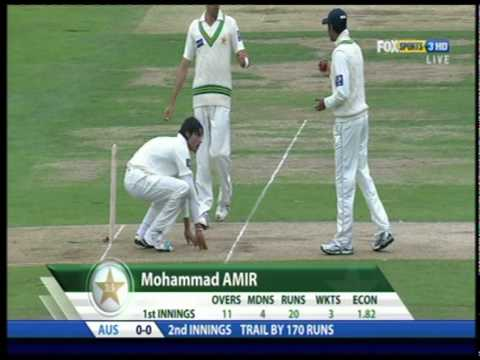 Mohammad Aamer Ball Tampering 2nd Test