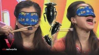 Lâm Vỹ Dạ ngất xỉu vì bị bắt ăn con trùng giống Gián | 7 Nụ Cười Xuân [Full HD]