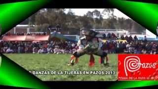 DANZA DE TIJERAS,PAZOS-PATRIMONIO CULTURAL DE LA NACION-YANAPUYO-Angel Ramos
