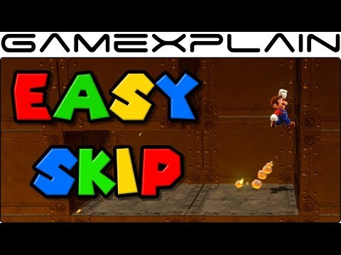 Super Mario Odyssey - Secret Skip in the Final Kingdom