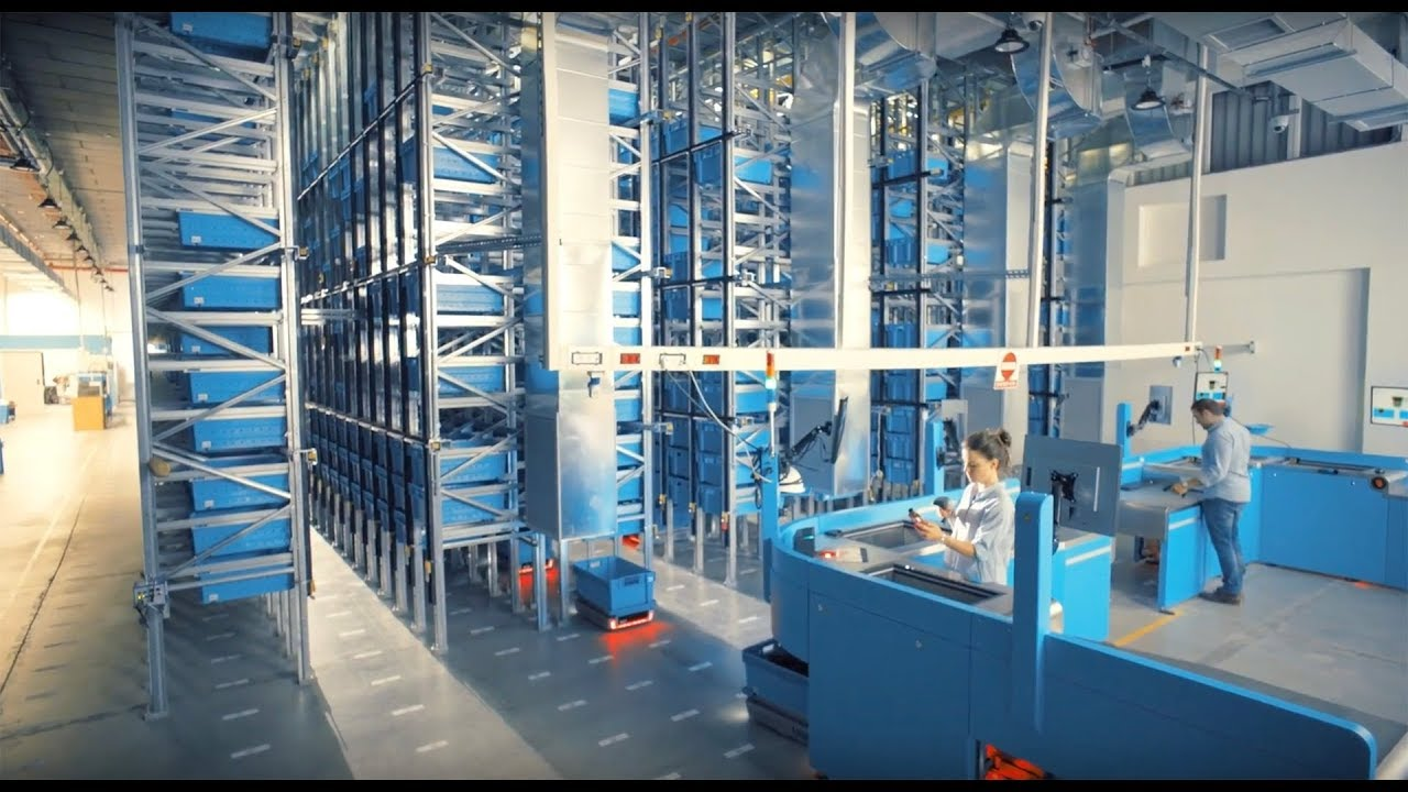 This Robotic Warehouse Fills Orders in Five Minutes, and