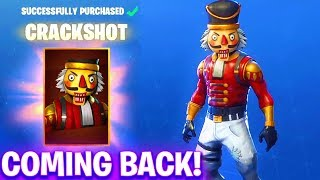 NEW Fortnite *OG* Christmas Skins Confirmed... CRACKSHOT IS COMING BACK (Fortnite Season 7)