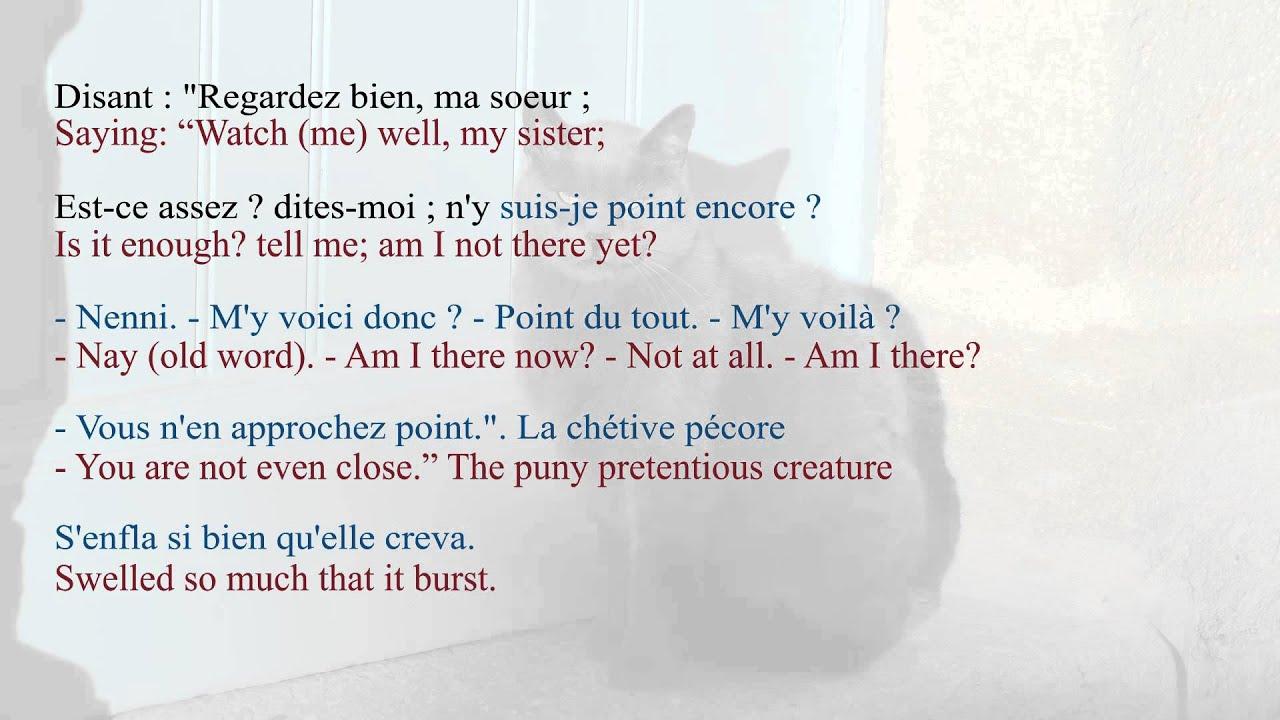 French Poem - La Grenouille et le Bœuf by Jean de La Fontaine ...