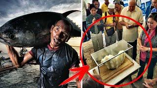 """Рыбак 10-лет держал под кроватью """"жемчужину"""" весом 34 кг... Оказалось она стоит 100 млн. ДОЛЛАРОВ..."""