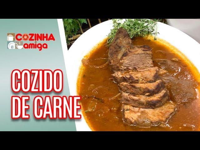 Cozido de Carne + Couve Flor Gratinada - Giuliana Giunti | Cozinha Amiga (25/03/19)
