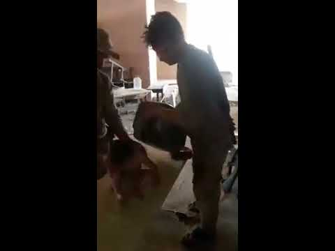 Iraqi Soldiers Find Toddler Alone Amid Rubble During Mosul Advance