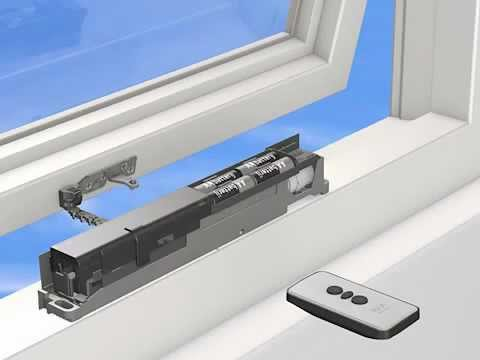 Axa elektrische raamopener met afstandsbediening