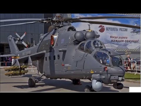 Russian Mil Mi-35M Attack Helicopter For Pakistan Army.PAK Army Receive Mil Mi-35M Attack Helicopter