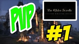 TESO | The Elder Scrolls Online | PVP #1 | Gameplay | Español | PC