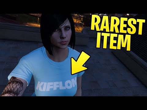 GTA Online DID YOU KNOW? - How to Get the Rarest Item (The Kifflom Tshirt)