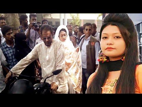 বাবার মোটরসাইকেলে করে আদালতে মিন্নি - বিচারক যে রায় দিল (Minni Barguna News)