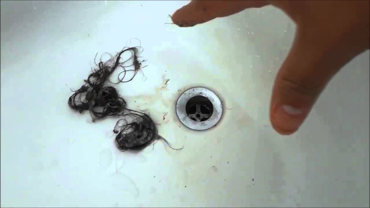 Unclogging My Bathtub Drain Removing The Hair Youtube