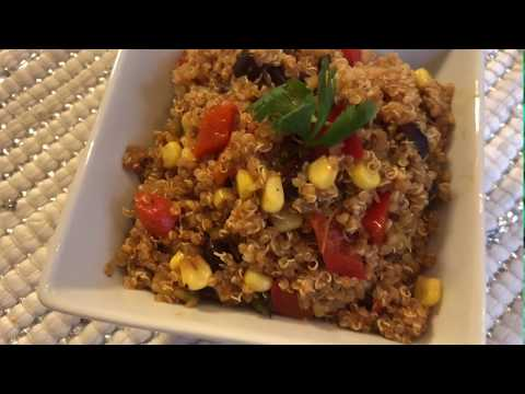 Super Delicious Southwestern Quinoa Salad