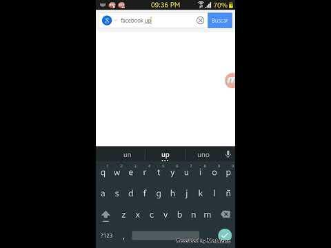 Facebook no funciona ( solución)