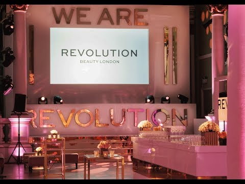 Revolution Beauty Brand Launch