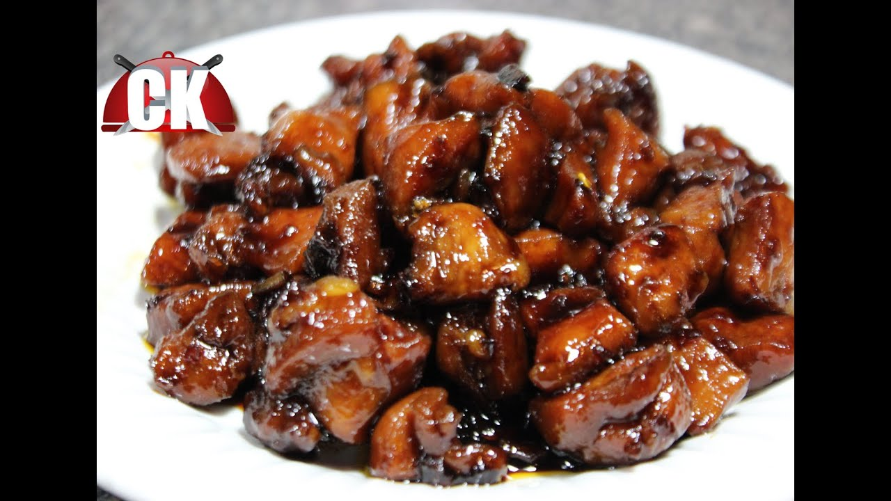 How to make Bourbon Chicken - Chef Kendra's Easy Cooking ...