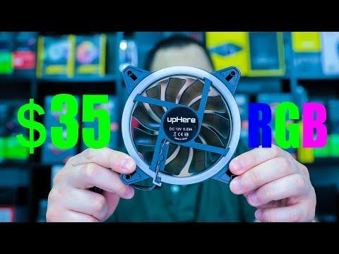 $35 RGB Fans UpHere RGB123-5