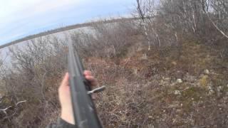 ОХОТНИКИ И РЫБОЛОВЫ ЗАПОЛЯРЬЯ. весенняя охота 2015 с детьми