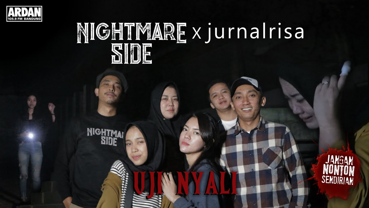 Nightmare Side X Jurnal Risa Uji Nyali Di Gedung Angker Bandung Youtube