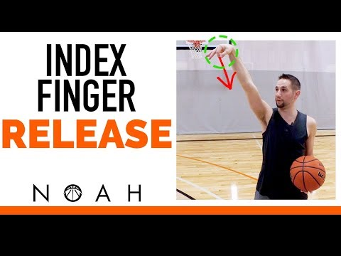 Get the Perfect Index Finger Shooting  Release: Noah Basketball