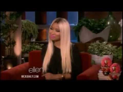 Nicki Minaj Promotes on Ellen (September 27, 2013)