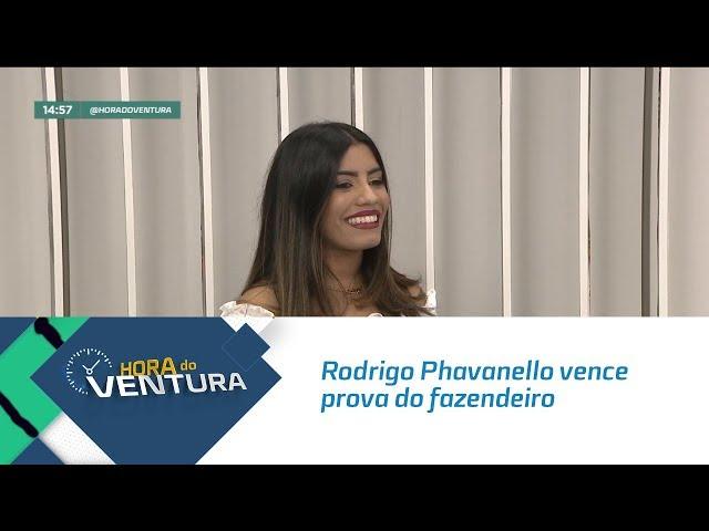 Rodrigo Phavanello vence prova do fazendeiro - Bloco 02
