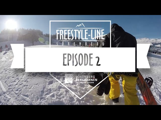 Freestyle Line Sörenberg, Episode 2, Season 14/15